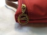 Фирменная косметичка или маленькая сумочка Longchamp. Англия. Новая. 22х13 без ручки, фото №5