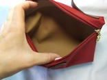 Фирменная косметичка или маленькая сумочка Longchamp. Англия. Новая. 22х13 без ручки, фото №7