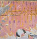 """1985,Кнышевский В.""""Зима"""",х.м.44*54см, фото №4"""