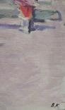 """1985,Кнышевский В.""""Зима"""",х.м.44*54см, фото №9"""