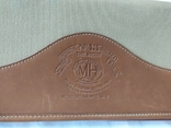 Фирменная номерная сумочка для галстуков Original Ghurka Bag 43. №L410. 40,5х13см., фото №4