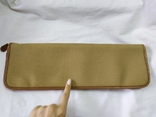 Фирменная номерная сумочка для галстуков Original Ghurka Bag 43. №L410. 40,5х13см., фото №7