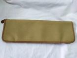 Фирменная номерная сумочка для галстуков Original Ghurka Bag 43. №L410. 40,5х13см., фото №8