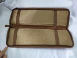 Фирменная номерная сумочка для галстуков Original Ghurka Bag 43. №L410. 40,5х13см., фото №11