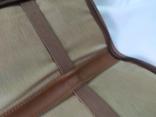 Фирменная номерная сумочка для галстуков Original Ghurka Bag 43. №L410. 40,5х13см., фото №12