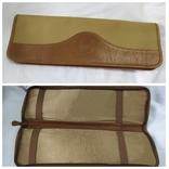 Фирменная номерная сумочка для галстуков Original Ghurka Bag 43. №L410. 40,5х13см., фото №2