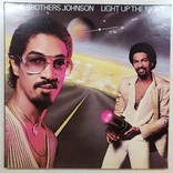 "Платівка. Funk / Soul. ""The Brothers Johnson* Light Up The Night"" Gatefold, фото №2"