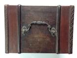 Сундучок шкатулка из натурального дерева 13х20х14,5, фото №12
