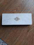 Коробок от ручек з золотым пером с паспортом, фото №3