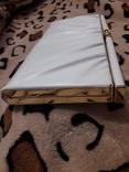 Белый клатч Salisburys Англия с чехлом для хранения, фото №7