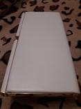 Белый клатч Salisburys Англия с чехлом для хранения, фото №8