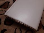 Белый клатч Salisburys Англия с чехлом для хранения, фото №9