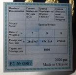 Набор монет гривня київська чернігівська новгородська футляр 2020 набор тип1 гривна, фото №6