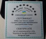 Україна набор монет гривна київська чернігівська новгородська футляр 2020 набор тип 1, фото №8