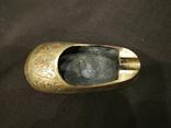 Пепельница башмак, туфель латунь Индия, фото №5