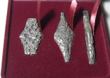 Набор монет гривня київська чернігівська новгородська футляр 2020 набор тип2 гривна, фото №4