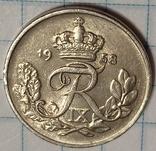 Дания 10 оре 1958, фото №2