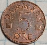 Дания 5 оре 1976, фото №3