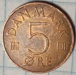 Дания 5 оре 1986, фото №2