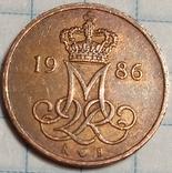 Дания 5 оре 1986, фото №3