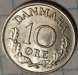 Дания 10 оре 1972, фото №2