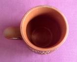 Кружка Фантазия. Поливная керамика., фото №5