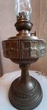 Керосиновая лампа латунная 1890-1910г-Германия, фото №3