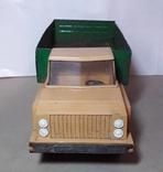 Машинка грузовик СССР 70-80 е годы ,длина 29 см., фото №4