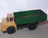 Машинка грузовик СССР 70-80 е годы ,длина 29 см., фото №5