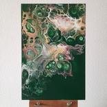 Картина/ живопис/ абстракція Fluid Art #73 acrylic, фото №4