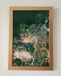Картина/ живопис/ абстракція Fluid Art #73 acrylic, фото №6
