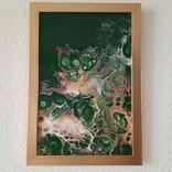 Картина/ живопис/ абстракція Fluid Art #73 acrylic, фото №11