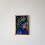 Картина/ живопис/ абстракція Fluid Art #74 acrylic, фото №12