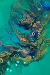 Картина/ живопис/ абстракція Fluid Art #75 acrylic, фото №8