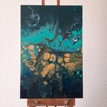 Картина/ живопис/ абстракція Fluid Art #76 acrylic, фото №4