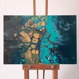 Картина/ живопис/ абстракція Fluid Art #76 acrylic, фото №5