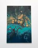 Картина/ живопис/ абстракція Fluid Art #76 acrylic, фото №6