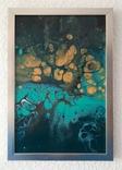 Картина/ живопис/ абстракція Fluid Art #76 acrylic, фото №7