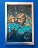 Картина/ живопис/ абстракція Fluid Art #76 acrylic, фото №8