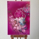 Картина/ живопис/ абстракція Fluid Art #77 acrylic, фото №2