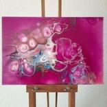 Картина/ живопис/ абстракція Fluid Art #77 acrylic, фото №3