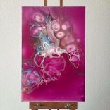 Картина/ живопис/ абстракція Fluid Art #77 acrylic, фото №4