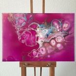 Картина/ живопис/ абстракція Fluid Art #77 acrylic, фото №5