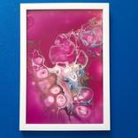 Картина/ живопис/ абстракція Fluid Art #77 acrylic, фото №7
