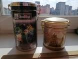 Жестяные банки от чая, 2 шт., фото №3
