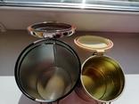 Жестяные банки от чая, 2 шт., фото №5