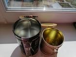 Жестяные банки от чая, 2 шт., фото №6