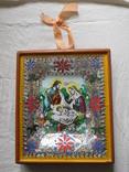 Икона под стеклом винтаж, фото №2