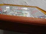 Икона под стеклом винтаж, фото №6