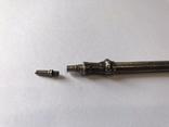 Старинный выдвижной карандаш (клеймо кабанья голова), фото №4